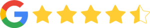 google 4.5 star review beyond bilingual